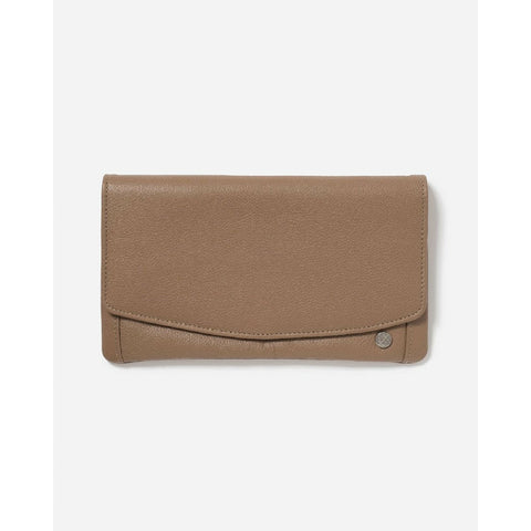 STITCH & HIDE DARCY WALLET - OAK