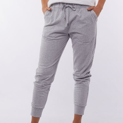 FOXWOOD LAZY DAYS PANT - Grey Marle