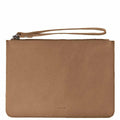 COBB & CO MOSSMAN LEATHER CLUTCH