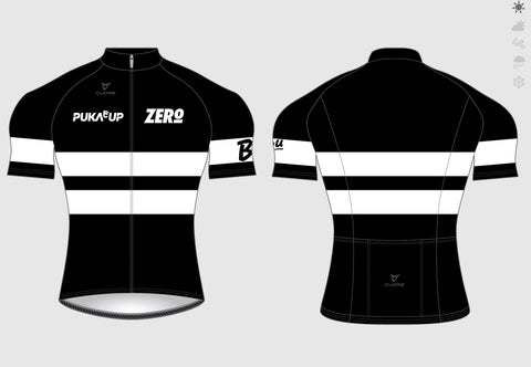 WOMENS CYCLING S/SLEEVE RACE JERSEY BLACK includes 30% Discount