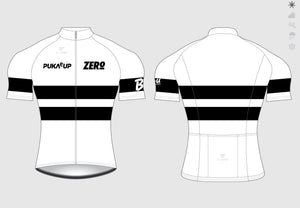 MENS CYCLING S/SLEEVE RACE JERSEY WHITE includes 30% Discount