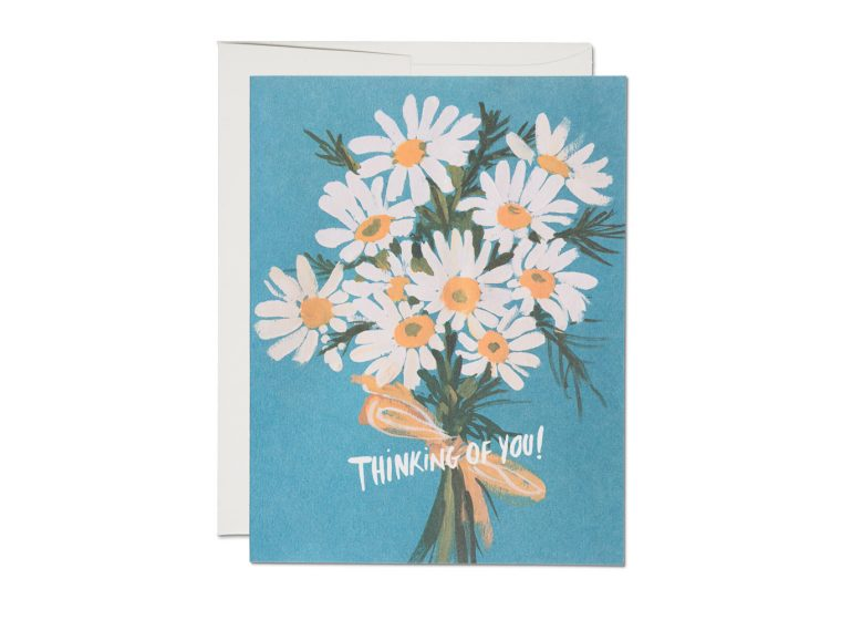 """Vintage Daisy"" Greeting Card"