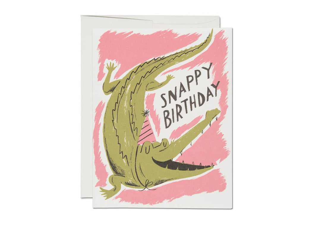 """Snappy Birthday"" Greeting Card"