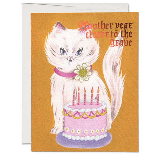 """Kitty & Cake"" Greeting Card"