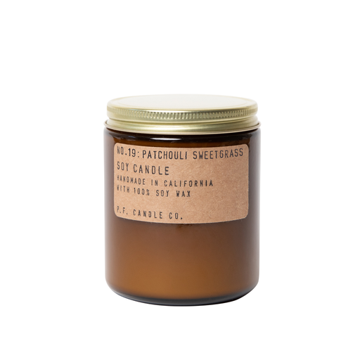 Patchouli Sweetgrass - 7.2 oz Soy Candle