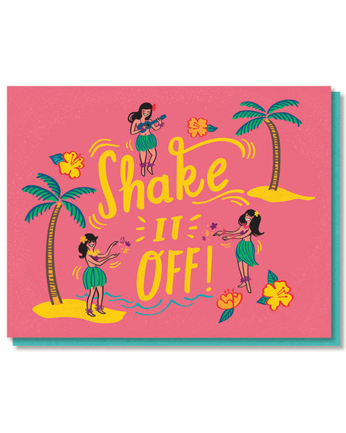 """Shake it Off"" Greeting Card"