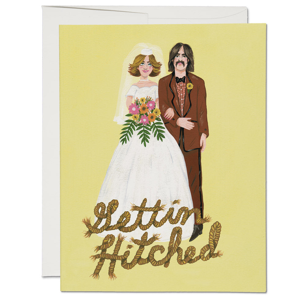 """Gettin Hitched"" Greeting Card"
