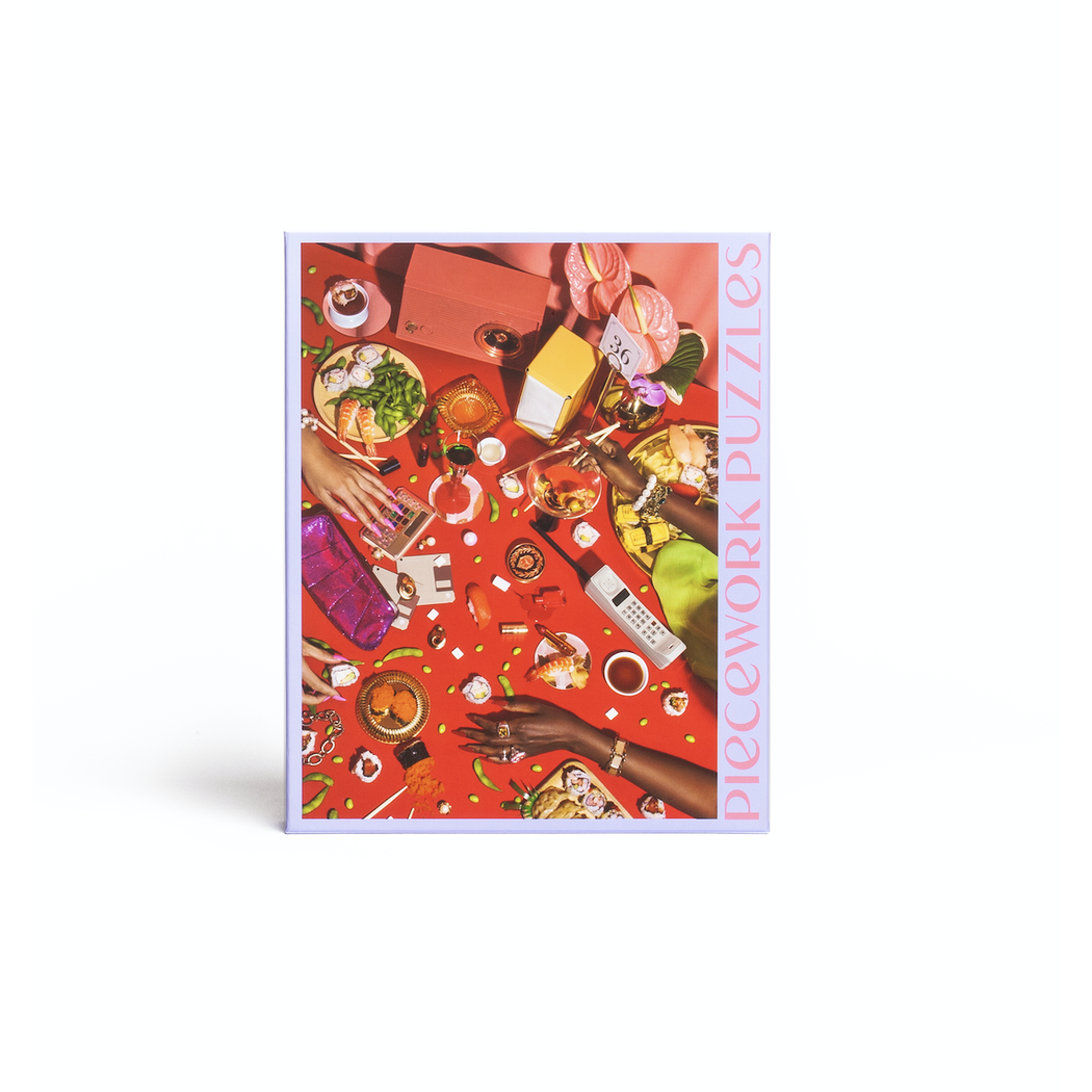 """Power Lunch"" 1000 Piece Jigsaw Puzzle"