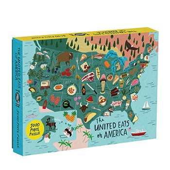 United Eats of America 1000 Piece Puzzle