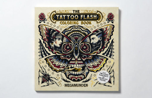 Tattoo Flash Coloring Book