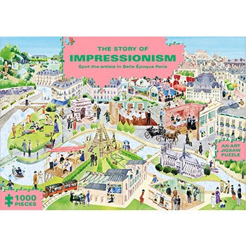 The Story of Impressionism Jigsaw Puzzle