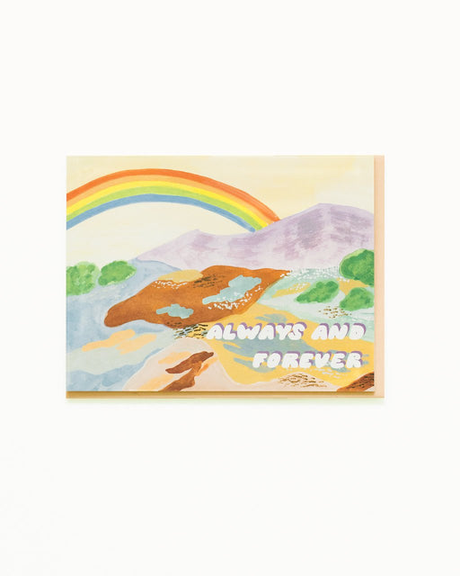 """Always And Forever"" Greeting Card"