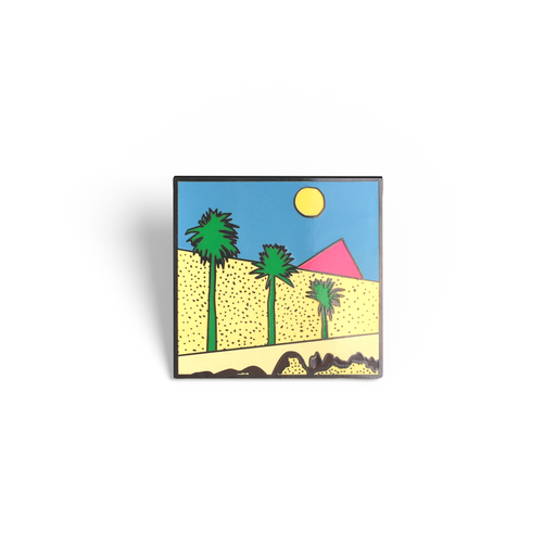 """Boys Don't Cry"" The Cure Enamel Pin"