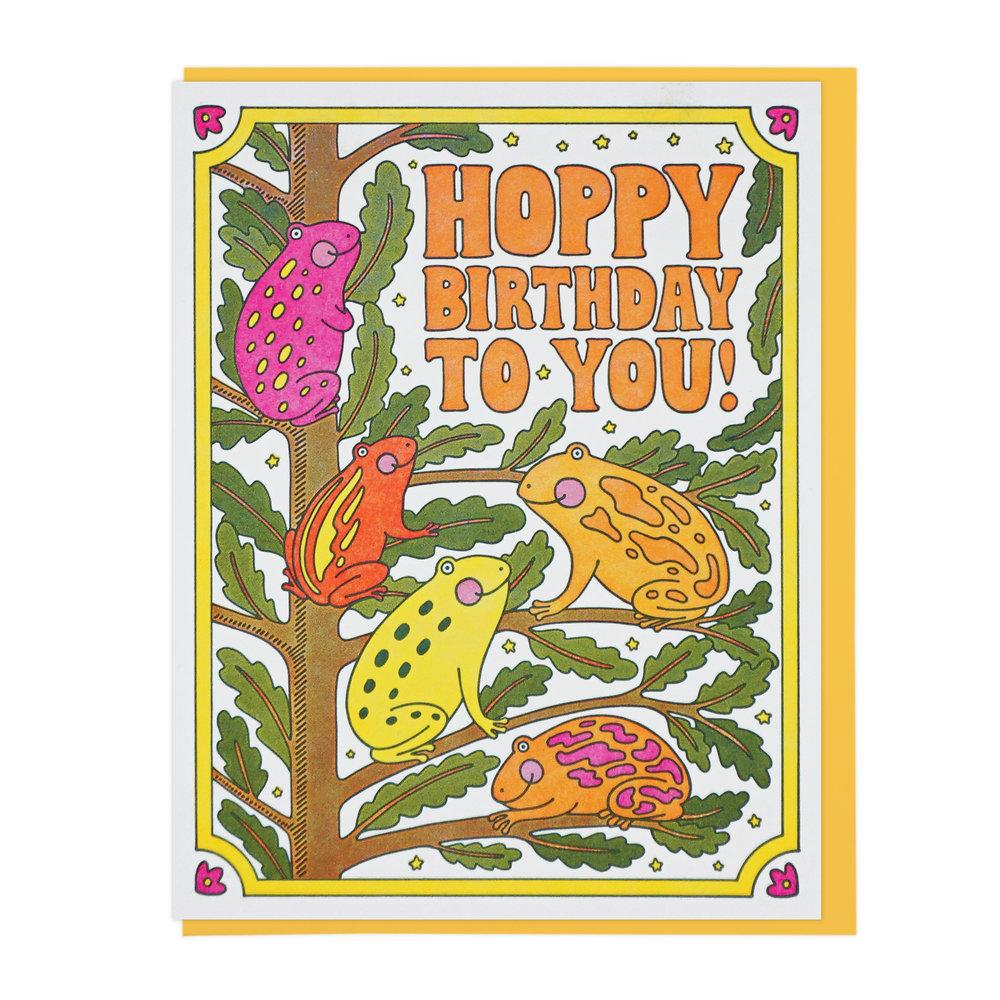 """Hoppy Birthday To You"" Greeting Card"