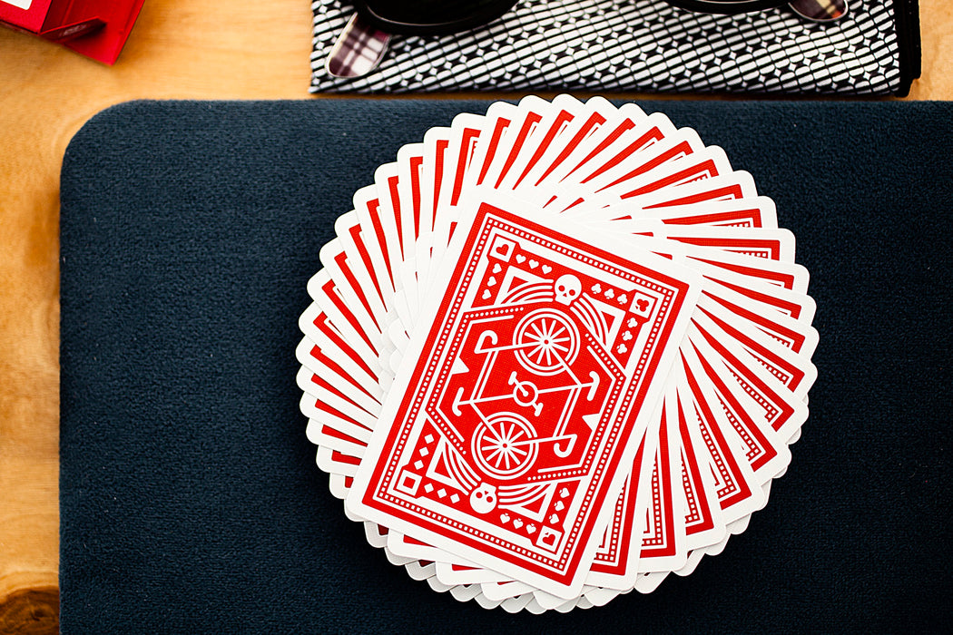 "DKNG ""Bicycle Rider"" Playing Cards"