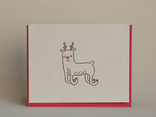 Rudolph Folded Notecards