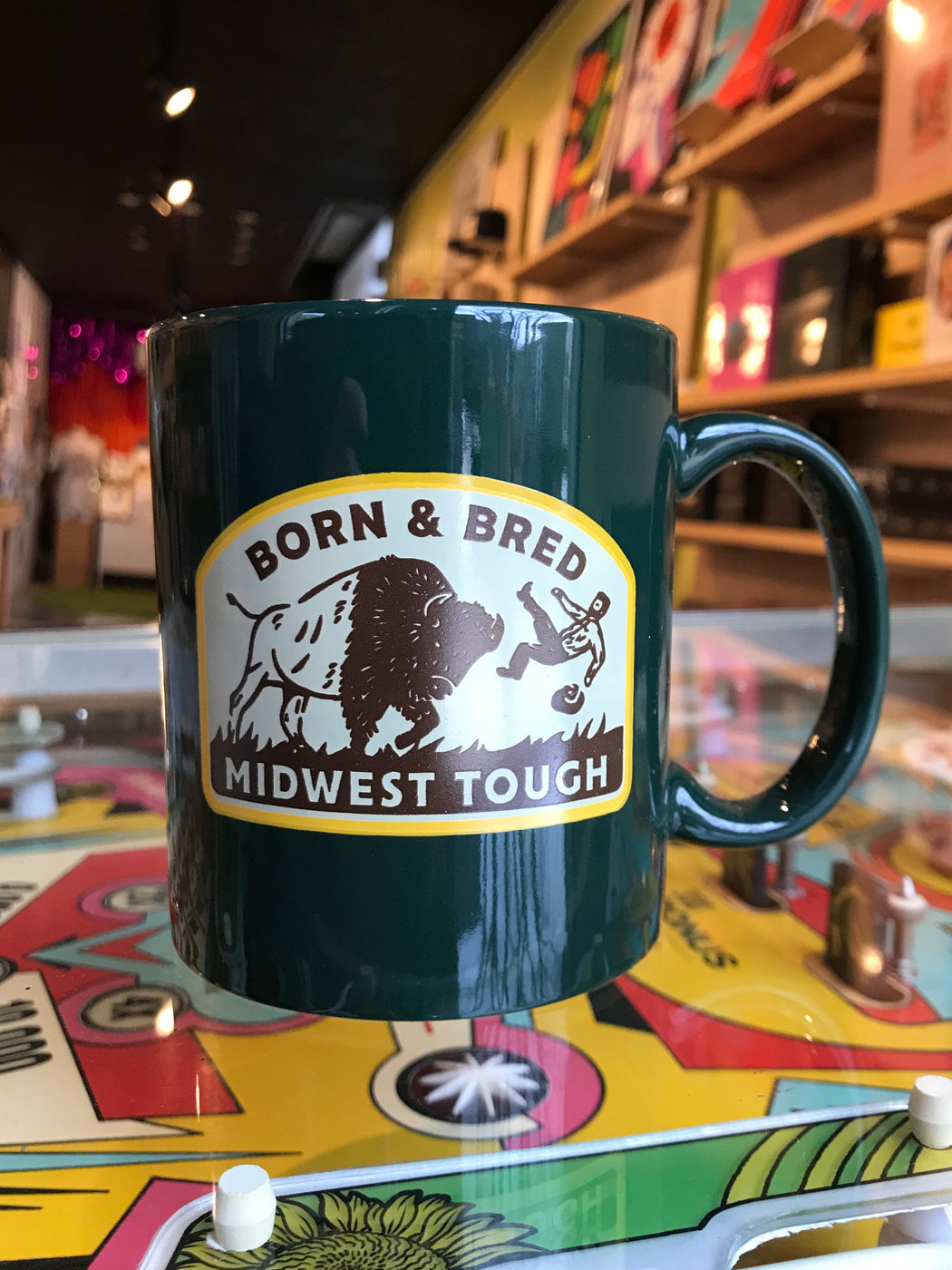 """Born & Bred Midwest Tough"" Mug"