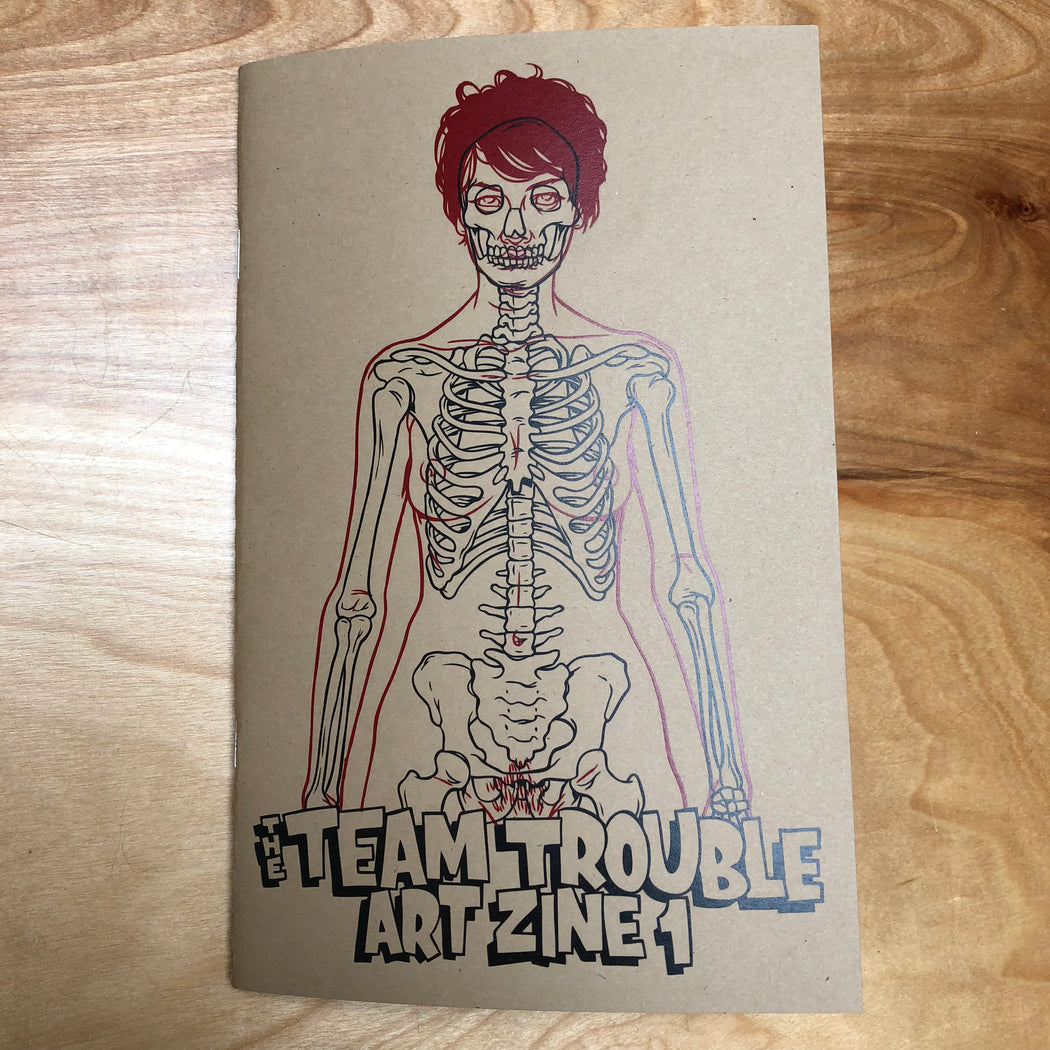 Team Trouble Art Zine #1