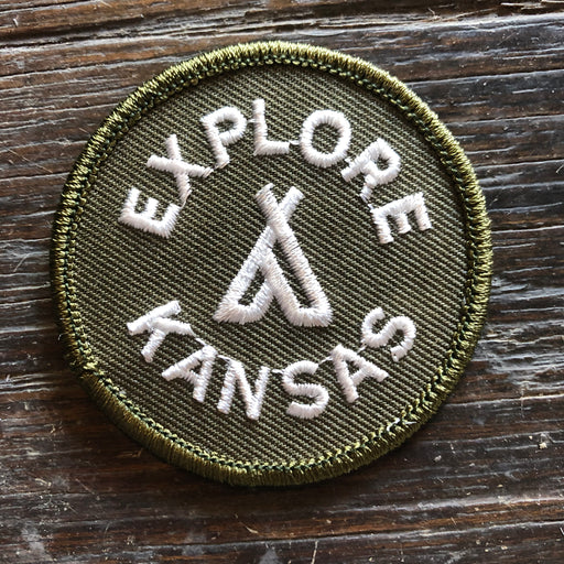 """Explore Kansas"" Patch"