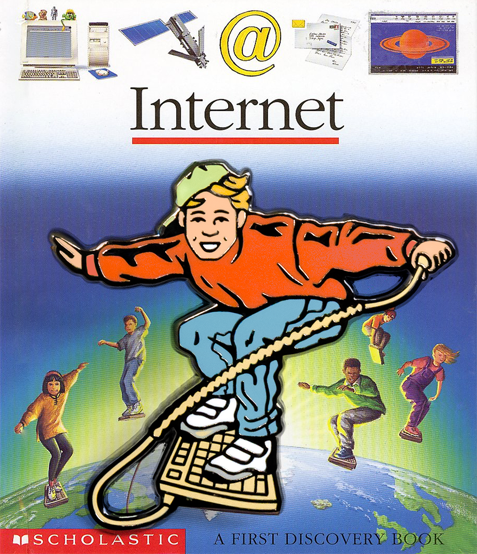 """Internet"" Enamel Pin"