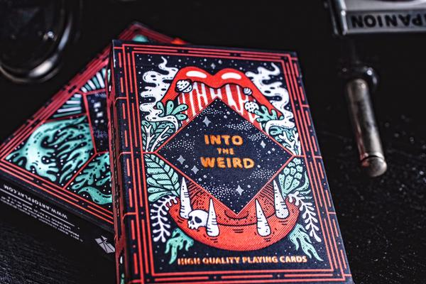 """Into the Weird"" Playing Cards"