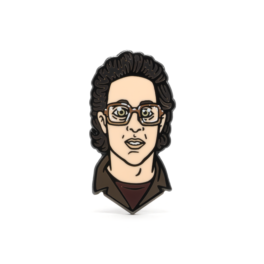 """Jerry Seinfeld"" Enamel Pin"