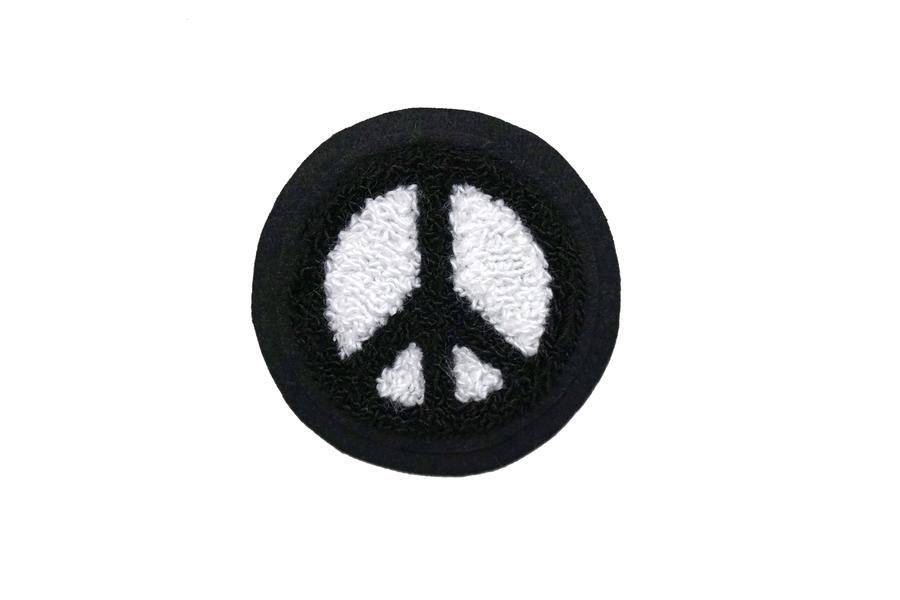 Peace Sign Chenille Patch