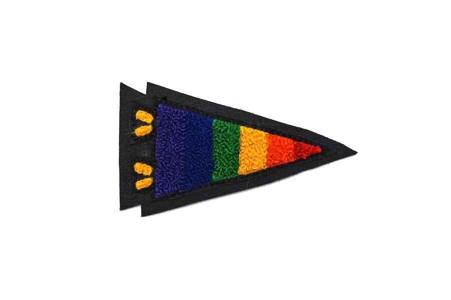 """Pride Pennant"" Chenille Patch"