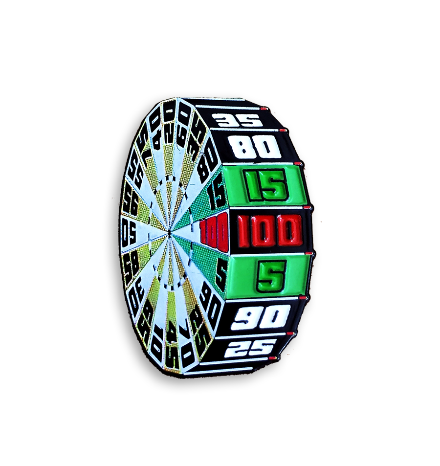 """The Big Wheel"" Pin"
