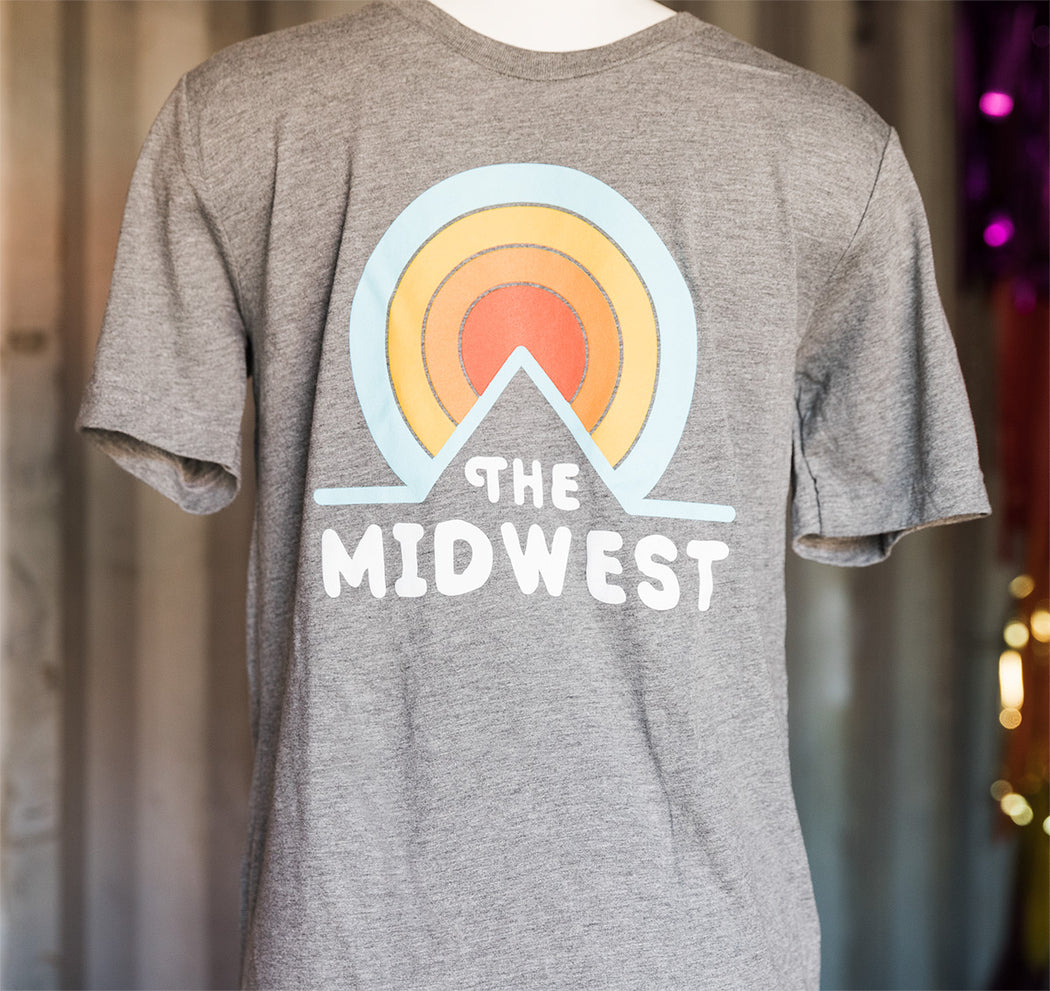 Midwest Circle Sunset Shirt