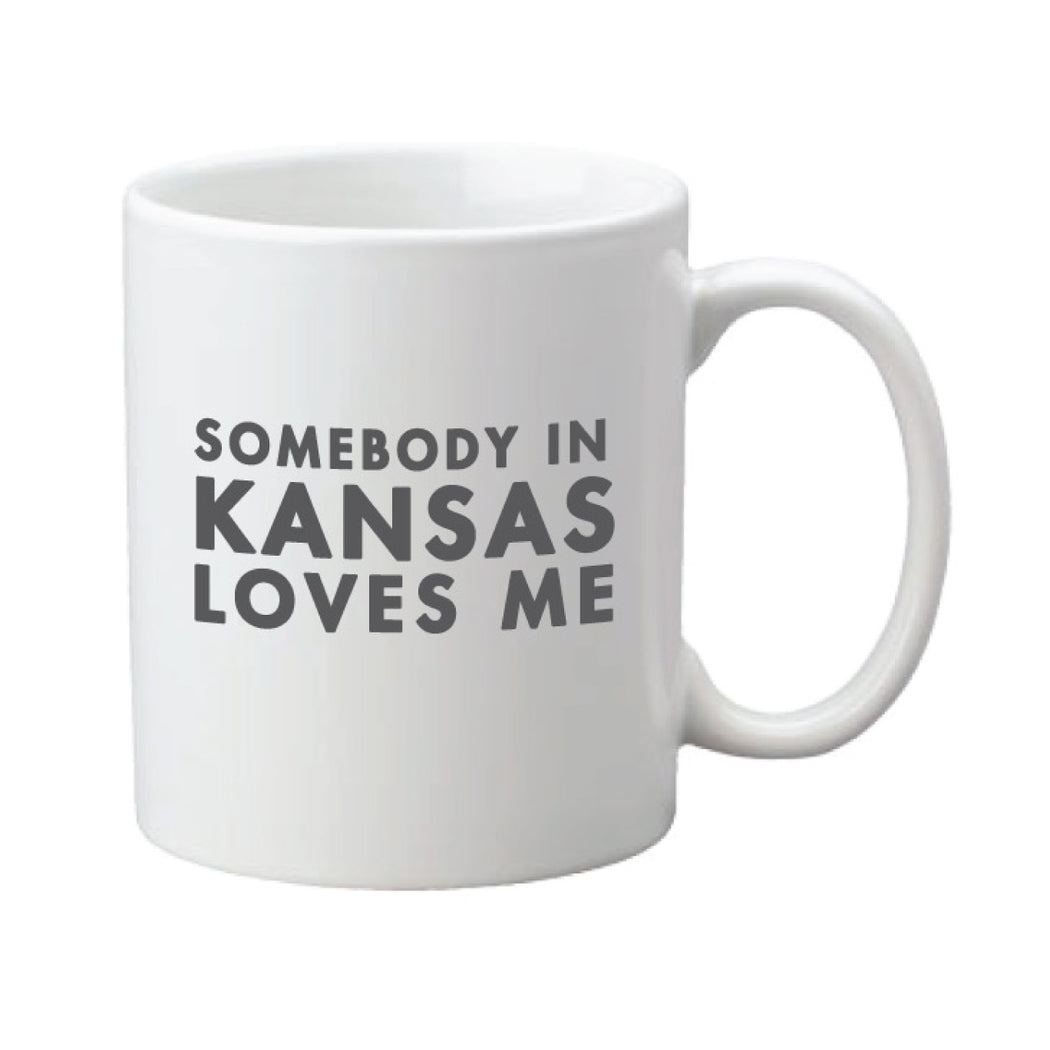Somebody In KS Loves Me Mug