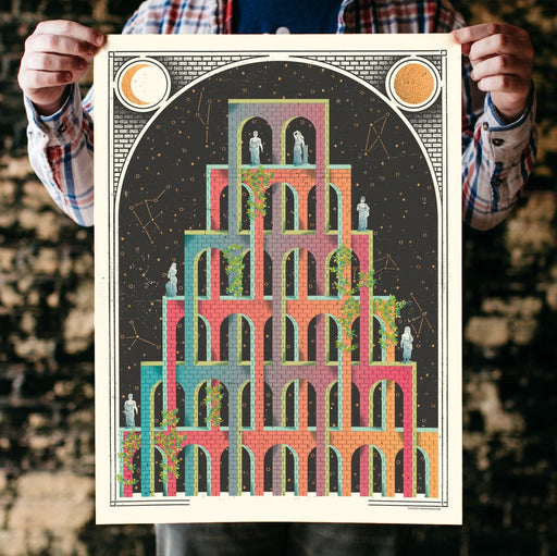 """Impossible Castle"" Print"