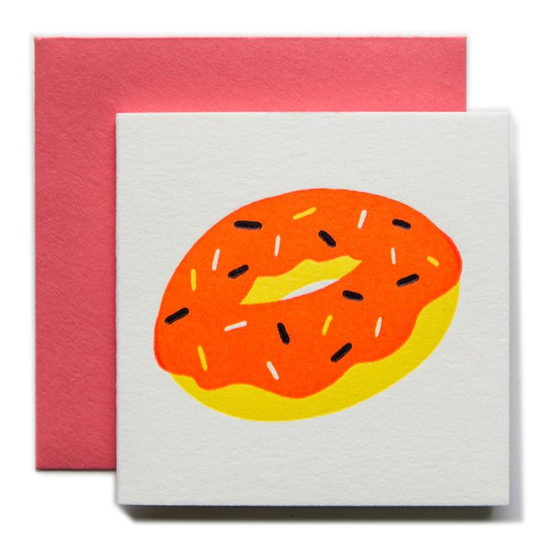 """Donut"" Tiny Card"