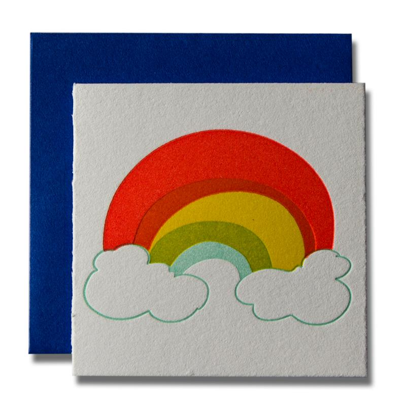 """Rainbow"" Tiny Card"