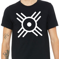 Wichita Flag Icon Shirt - Black