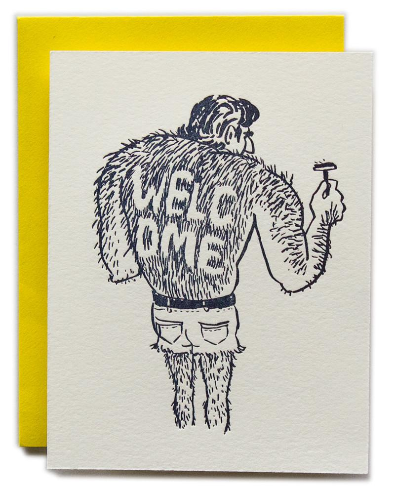 """Welcome Back"" Greeting Card"