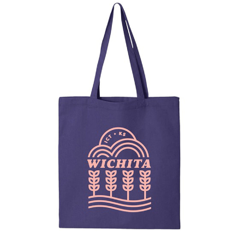 """Wichita Vibes"" Tote Bag"