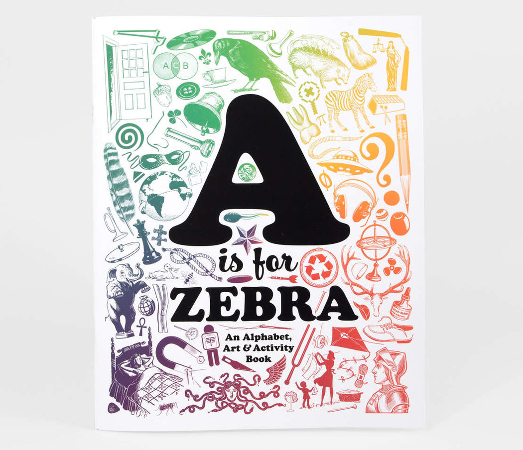 A is for Zebra Activity Art Book