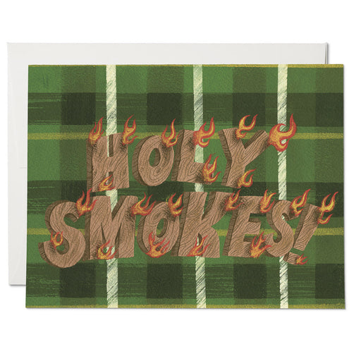 """Holy Smokes"" Greeting Card"