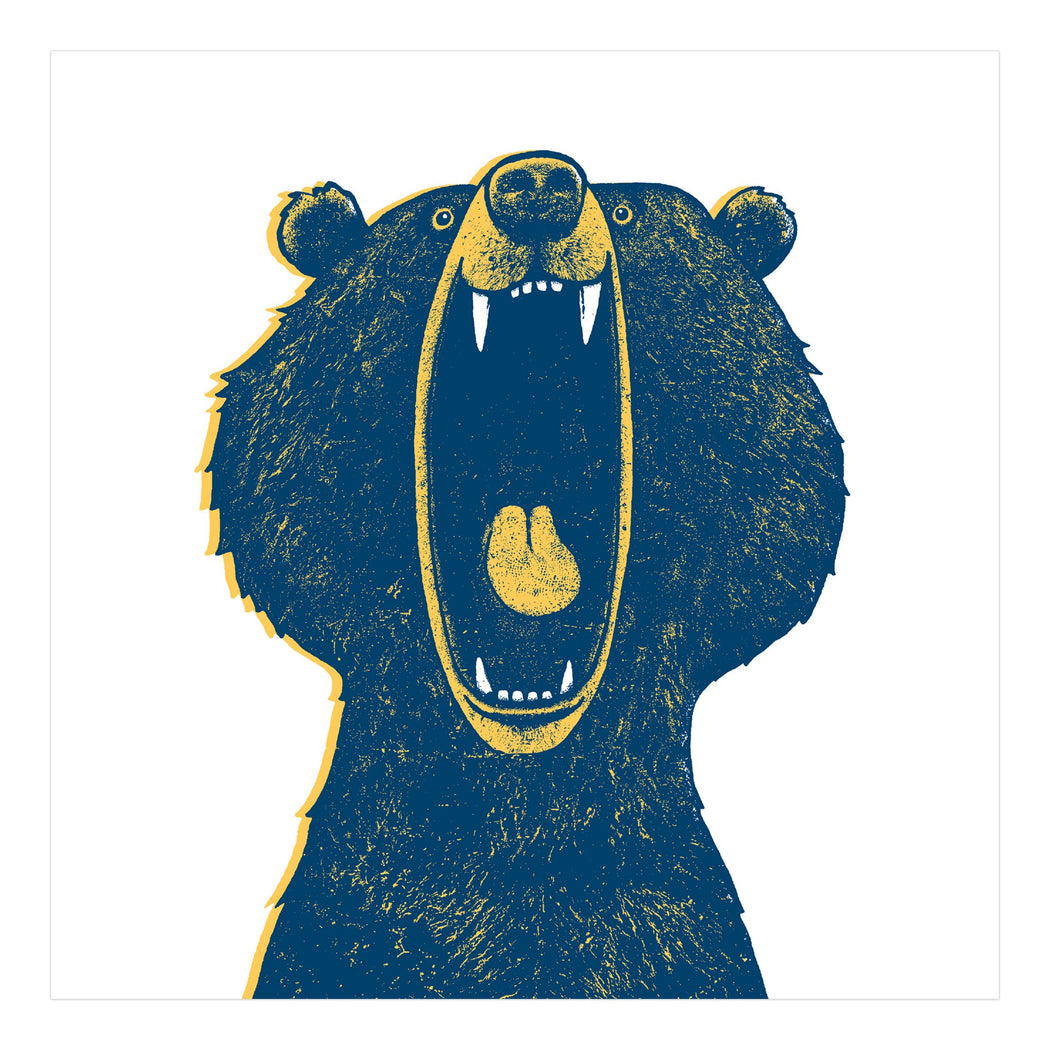 Bear Screen Print