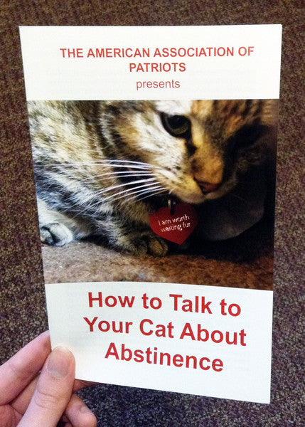 How To Talk To Your Cat About Abstinence
