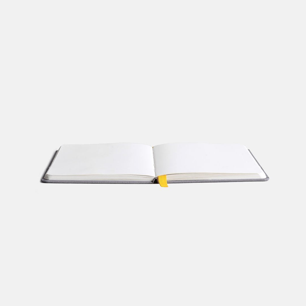Confidant Hardcover Notebook - Yellowgold - Dot Grid