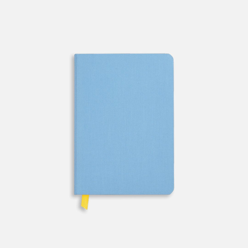 Confidant Hardcover Notebook - Blue Slate - Dot Grid