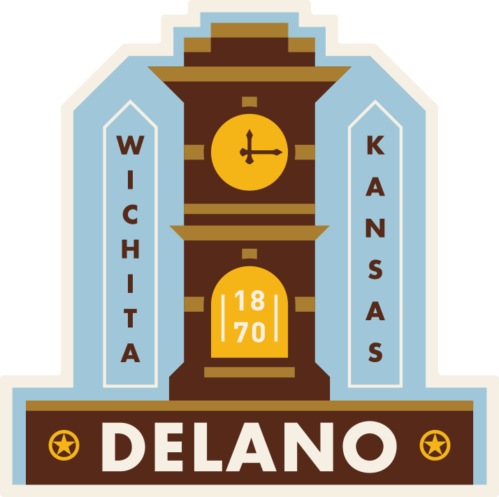 """Delano Tower"" Sticker"