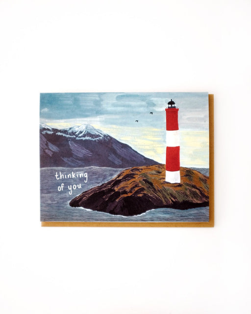 Small Adventure - Thinking of You Lighthouse Card