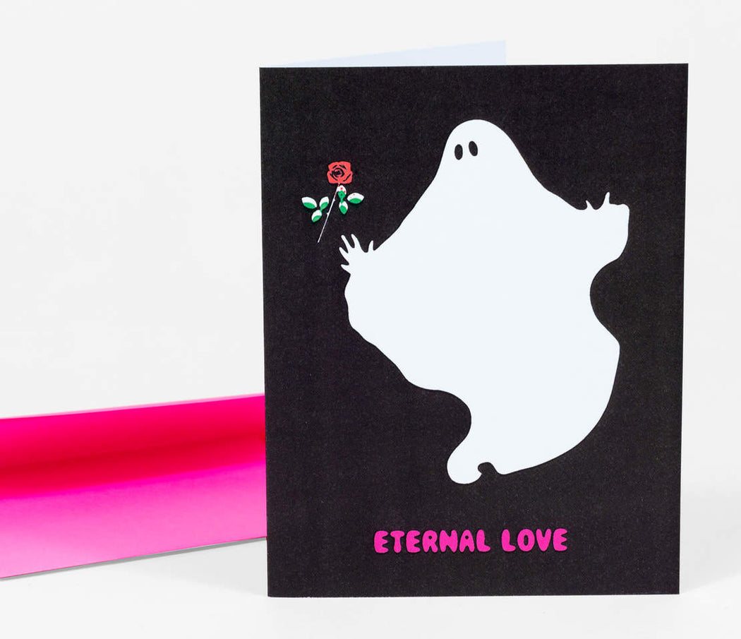 """Eternal Love"" Greeting Card"