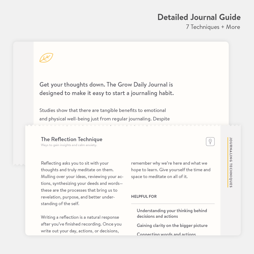 Grow Daily Journal