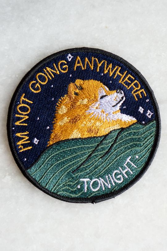 """Anywhere Tonight"" Patch"