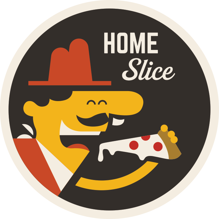 """Home Slice"" Sticker"