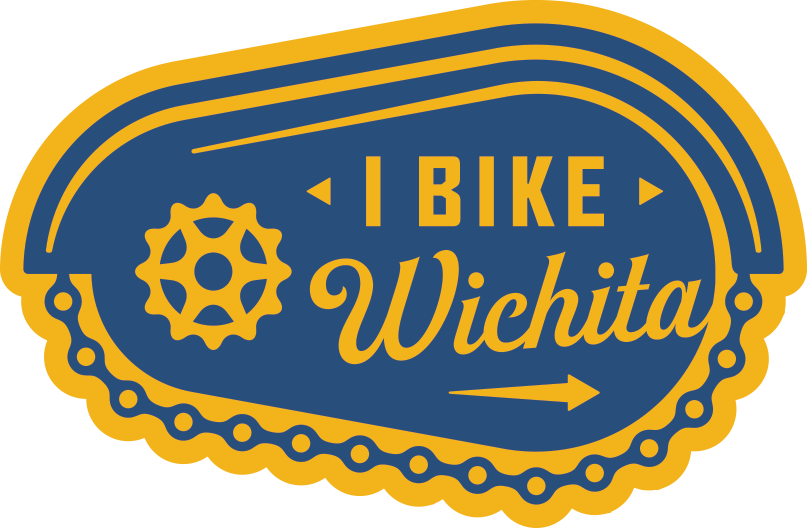 """I Bike Wichita"" Sticker"